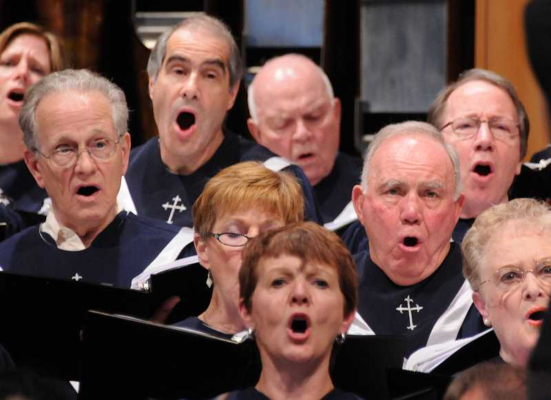 by: SUBMITTED PHOTO - Lake Grove Presbyterians Sanctuary Choir will present a free concert Saturday of music it will sing while on tour in Europe next month. Gospel singer Pam Baker, pictured, will be a guest performer.