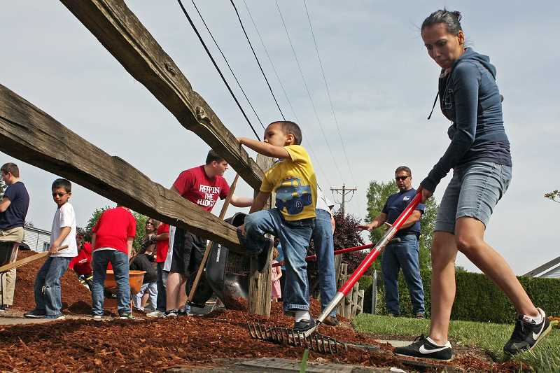 by: COURTESY PHOTO - Event organizers are hoping to draw more participants of all ages to clean up Cornelius on Saturday.