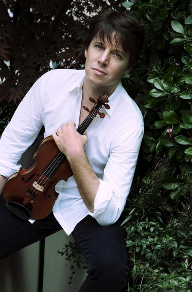 by: COURTESY OF OREGON SYMPHONY - Violinist Joshua Bell returns to play with the Oregon Symphony, March 17 to 19 at Arlene Schnitzer Concert Hall.