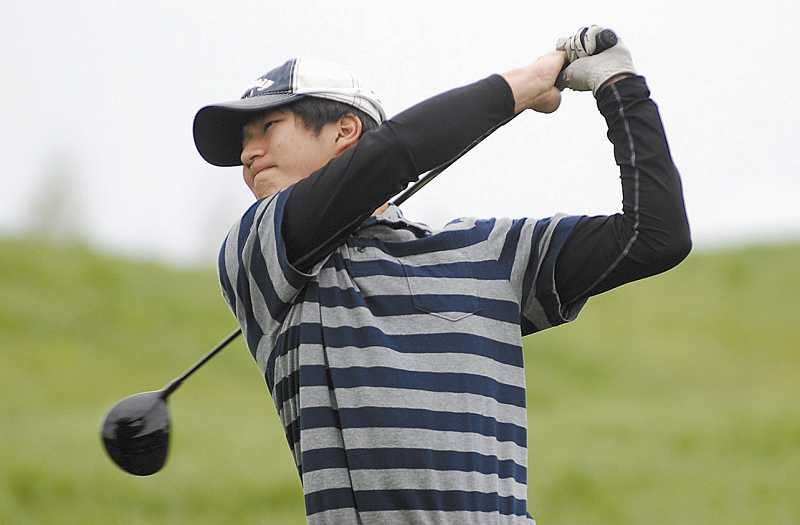by: FILE PHOTO - Wilsonville junior Chan Lee earned medalist honors at the NWOC district tournament May 12-13 at The Reserve in Aloha.