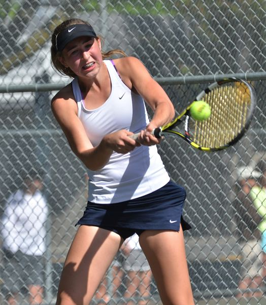 by: VERN UYETAKE - Lake Oswego's Katie Day earned another trip to state, advancing to the semifinals of the district tournament and then upsetting the No. 1 seed in the bracket to reach the finals.
