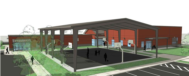 by: CONTRIBUTED: THE SALVATION ARMY - This is an artists rendering of the expansion - now under way - of The Salvation Army facility in Rockwood.