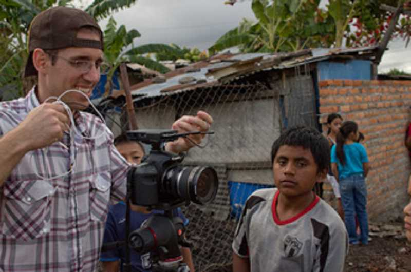 by: SUBMITTED PHOTO: BEN METCALF - West Linn native Ben Metcalf spent a month filming a community art project in Honduras, eventually turning the footage into a 40 minute documentary.
