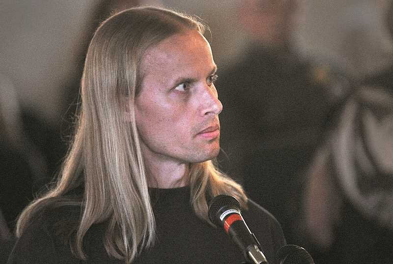by: REVIEW PHOTO: VERN UYETAKE - Conrad Engweiler, 40, is a Lake Oswego resident and convicted murderer.