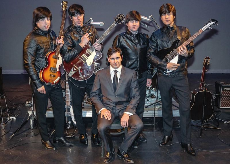 by: COURTESY OF ABBEY ROAD - In My Life - A Musical Tribute to the Beatles, June 6 at Newmark Theatre, tells the story of the Fab Four from manager Brian Epsteins perspective (left, a Cavern Club scene from show).