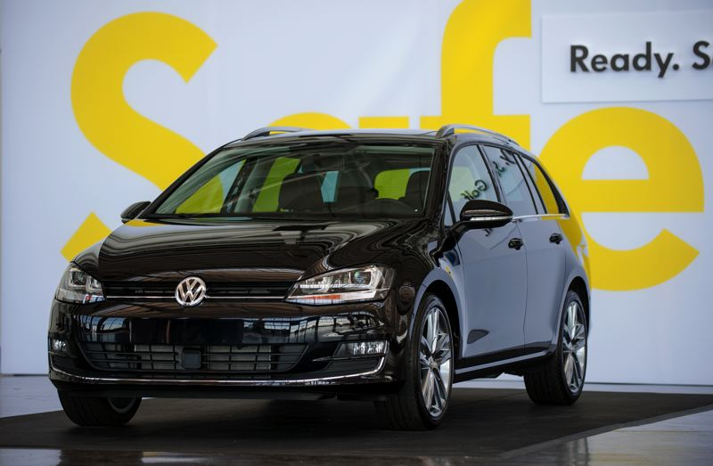 by: TRIBUNE PHOTO: JOHN M. VINCENT - The Golf Sportwagen will replace the Jetta Sportwagen when it enters the market in early 2015. Both gasoline and diesel engines will be available.