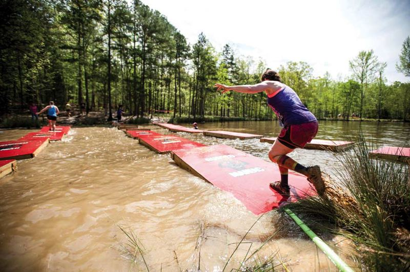 by: COURTESY OF RUGGED RACES - The second annual Rugged Maniac race at PIR, May 31, will test individuals in many ways.