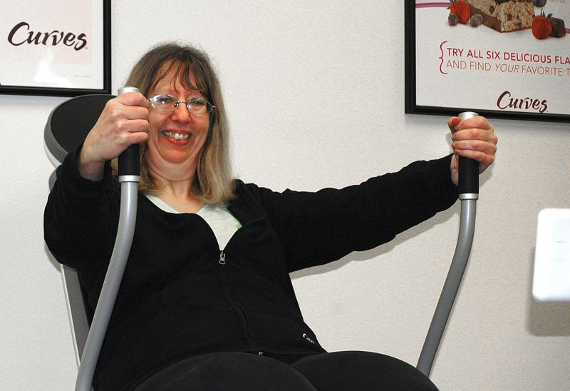 by: ESTACADA NEWS PHOTO: BEVERLY CORBELL - Susan Wagner is leaving Curves after 10 years but will manage a new gym for both men and women at the same location.