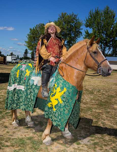 by: NEWS-TIMES FILE PHOTO - There is a wide variety of open positions for the Renaissance festival in Hillsboro this year, but not all involve equines.