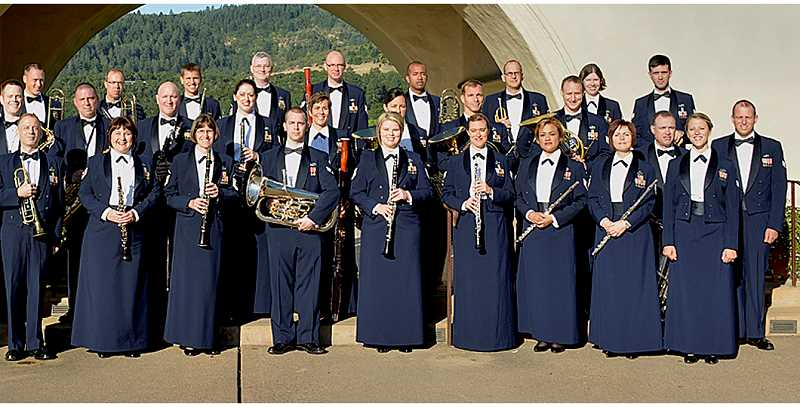 by: SUBMITTED - Free concert - The United States Air Force Band of the Golden West Concert Band will host a free concert June 9 at Bauman Auditorium on the campus of George Fox University.