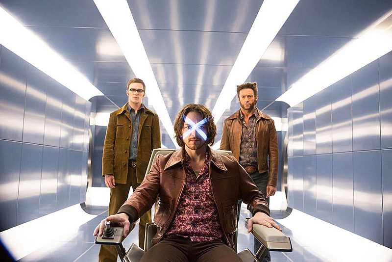 by: SUBMITTED - New film - In 'X-Men: Days of Future Past' Wolverine is sent back to the past to save the X-Men's future. The film opened Friday.