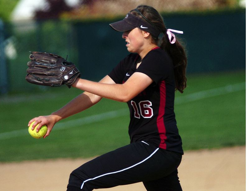 by: DAN BROOD - STRIKEOUT PITCHER -- Tualatin junior Emily Sorem struck out 17 South Medford batters in 11 innings in Monday's state playoff game.