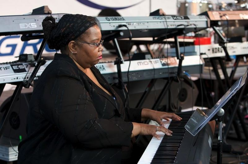 by: COURTESY OF SCROGGINS FAMILY - A memorial service for pianist Janice Scroggins is planned Wednesday in Portland.