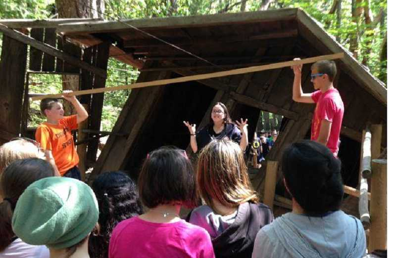 Ninety-One School students got to enjoy a tour of the Oregon Vortex and other spots in southern Oregon.