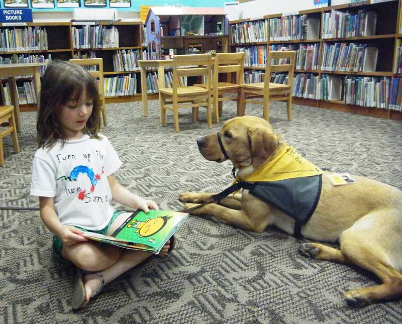 Image result for read to the dogs portland""