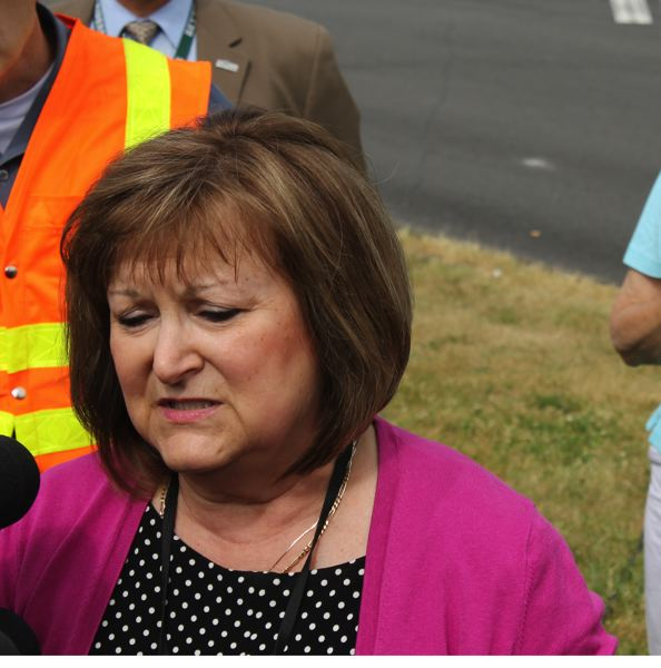 by: PAMPLIN MEDIA GROUP PHOTO: JIM CLARK - Reynolds School District Superintendent Linda Florence called Tuesday's shooting 'a tragic day' that she hoped would never come for her schools. Educators across the state called for safer schools in the wake of the high school shooting that killed a student and wounded a teacher.