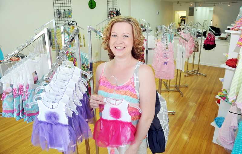 by: GARY ALLEN - New business - Beautiful Bebe Boutique is now open on First Street. Owner Shelley Martin started the business in her home to make some extra cash, but after rapid growth, she's opened a storefront downtown.