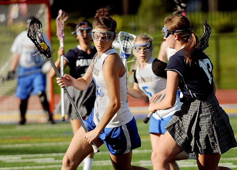 by: SETH GORDON - Pickpocket - Shea Terranova helped lead Newberg to its best season yet and was named to the Oregon Girls Lacrosse Association all-Northwest Division first team. Terranova led the league with 41 caused turnovers in 12 games.