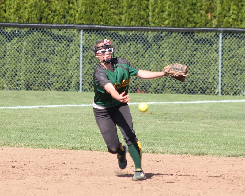 by: JIM BESEDA/MOLALLA PIONEER - Colton senior Mikaela Shelton was named the West Valley League's 2014 Player of the Year in voting by the league's coaches.