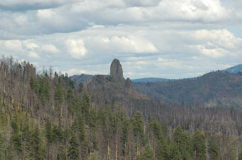 by: SCOTT STAATS SPECIAL TO THE CENTRAL OREGONIAN - Twin Pillars is situated approximately in the center of the Hash Rock Burn.