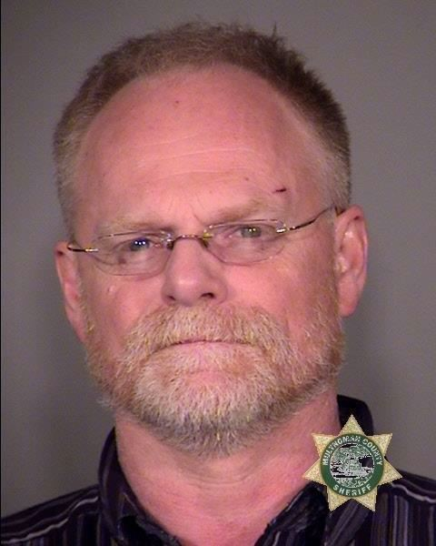 by: MULTNOMAH COUNTY SHERIFF'S OFFICE PHOTO - Michael Padgett, father of Reynolds High School shooter Jared Padgett, is shown here in a sheriff's office mug shot after his 2012 arrest for driving under the influence of intoxicants. He has two DUIIs and 10 other infractions on his driving record.