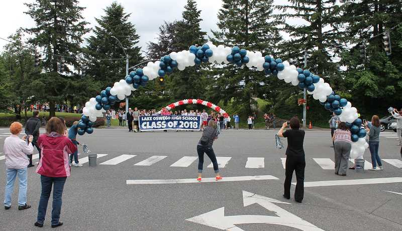 by: THE REVIEW: JILLIAN DALEY - Graduating Lake Oswego Junior High eighth-graders are about to cross Country Club Road and become ninth-graders.