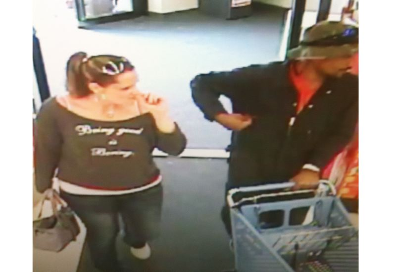by: PHOTO COURTESY: OCPD - Suspects are captured on video surveillance committing the forgeries, Oregon City police officers say.