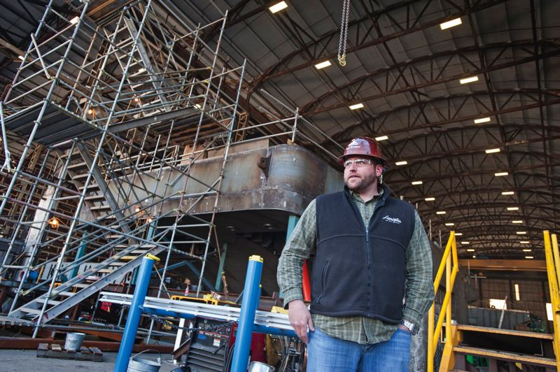 by: TRIBUNE PHOTO: JOHN VINCENT - Vigors director of manufacturing operations Kale Kramer looks forward to the synergies from the merger. Were using the goods of both companies to be a better one.