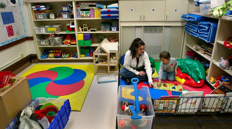 by: FILE PHOTO: PAMPLIN MEDIA GROUP - Free child care at the main courthouse in downtown Portland, shown here, will soon be added to the East County Courthouse by the Multnomah Bar Association.