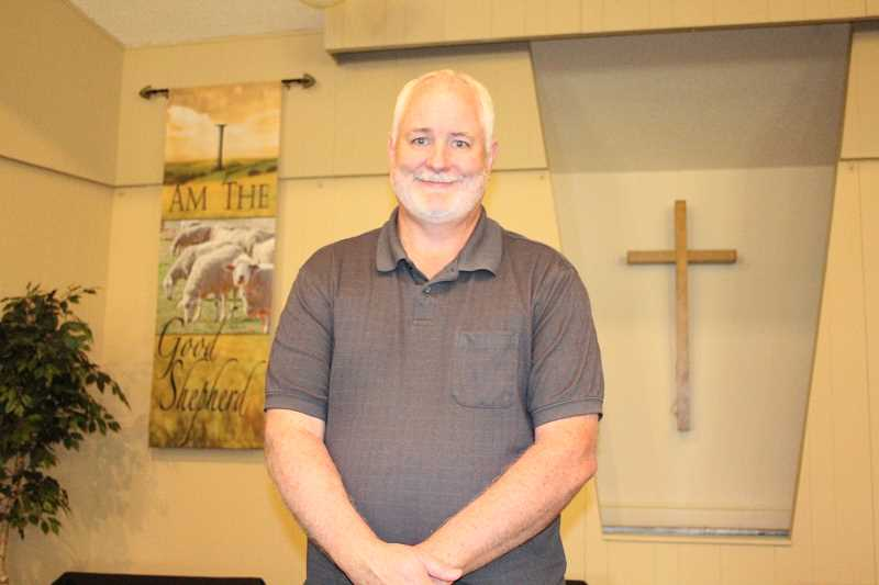 by: LINDSAY KEEFER - Mike Smith is the new pastor at Woodburn Christian Church.