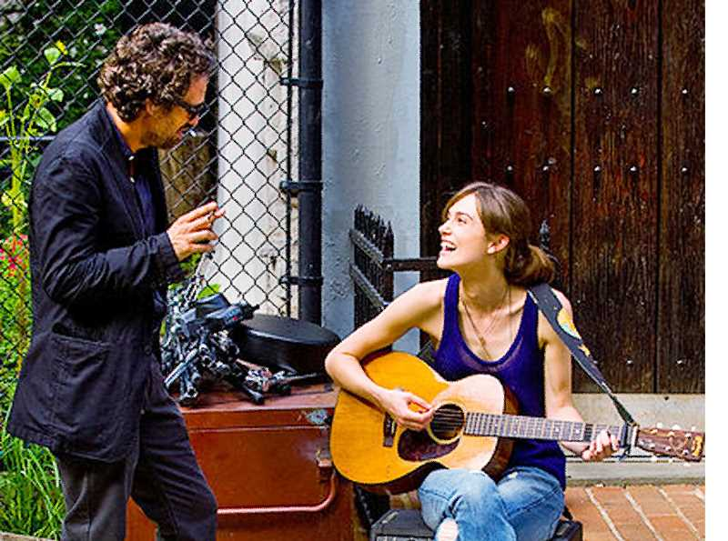 by: SUBMITTED - New movie - Dan (Mark Ruffalo) and Gretta (Kiera Knightley) find themselves in the new film 'Begin Again.' The film opens Wednesday.