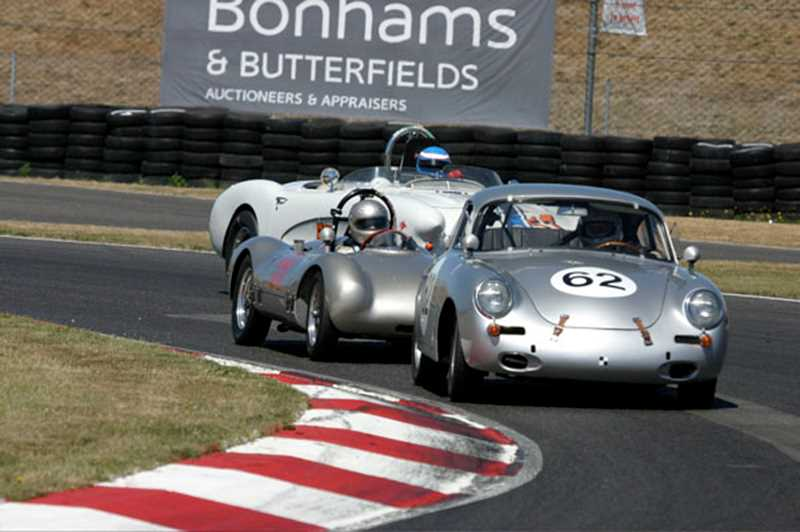 by: COURTESY PHOTO - Historic race cars arent just for show; they can still go fast.