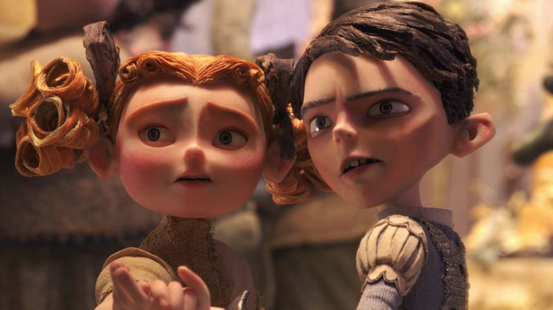by: COURTESY OF FOCUS FEATURES - Laika's latest production, 'The Boxtrolls,' will feature characters Winnie and Eggs when it is released in September.