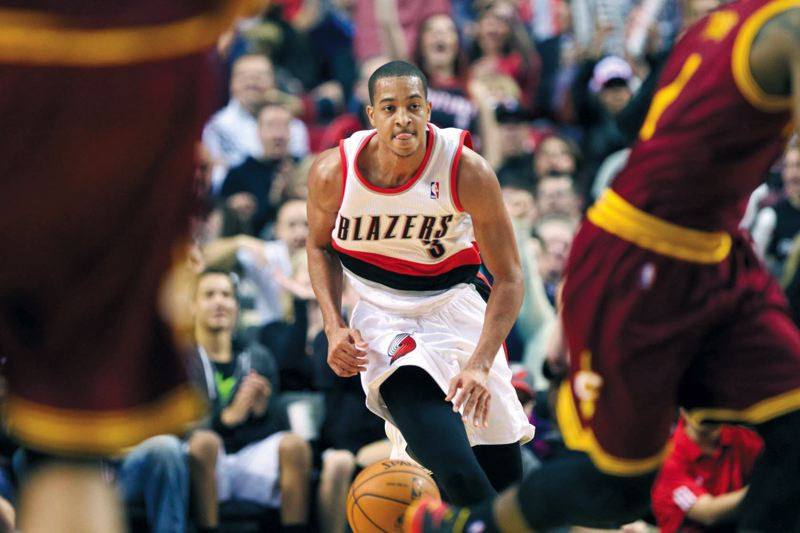 by: TRIBUNE PHOTO: MIKALAN MOISO - Back-up point guard CJ McCollum plans to use his time at this years NBA Summer League in Las Vegas to improve his game. McCollums focus also is on writing and TV, where he hopes to someday work as a journalist.