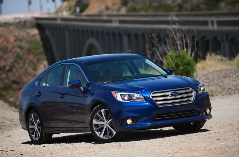 by: JOHN M. VINCENT - The redesigned 2015 Subaru Legacy is large and more refined, but still comes standard with all-wheel-drive.
