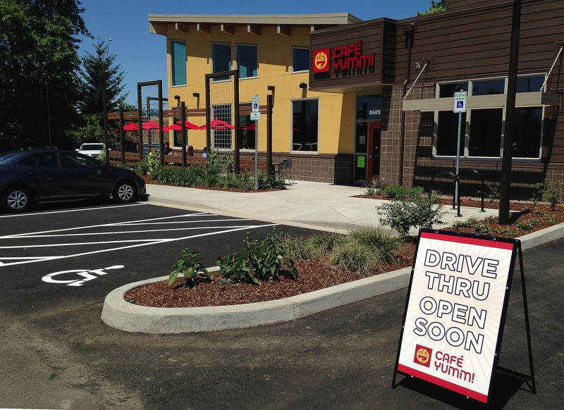 by: SPOKESMAN PHOTO: JOSH KULLA - Cafe Yumm in Wilsonville will have a drive-thru window along with online ordering and take-out.
