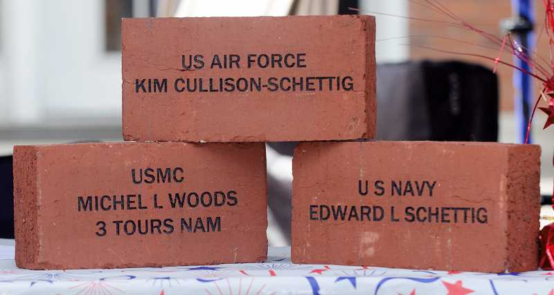by: RAY HUGHEY - Bricks are being sold to help support the memorial.