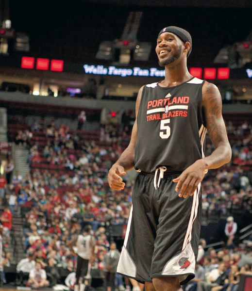 by: TRIBUNE FILE PHOTO - Will Barton, Blazers swingman, is focusing on his mental approach to the game and leadership skills as he attempts to improve his overall game.