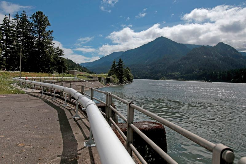by: PAMPLIN MEDIA GROUP: JONATHAN HOUSE - Lamprey dont do well with traditional fish ladders, but specially designed tubes seem to be helping the threatened species surmount and pass through the Bonneville Dam.