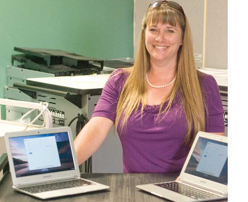 by: KEVIN SPERL - Michelle DeBoard is Crook County School District's new director of technology.