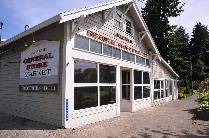 by: TIDINGS FILE PHOTO: VERN UYETAKE - A restaurant was set to move in to replace the Historic Willamette General Store, which closed in January, but progress was halted last week when the city discovered structural problems in the building.