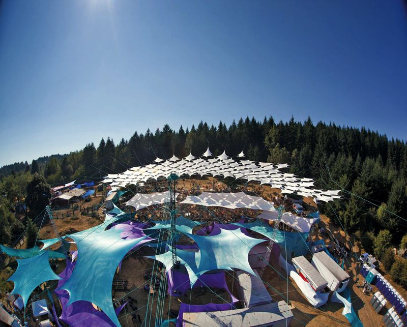 by: COURTESY OF PICKATHON/DAVID HERBERTSON - Pendarvis Farm is the beautiful locale for Pickathon, the trendy music festival in Happy Valley, Aug. 1 to 3.