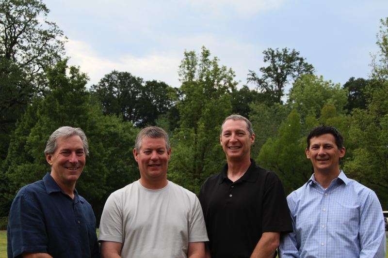 by: SUBMITTED PHOTO - Bobs Auto Cafe hopes to properly train technicians through paid internships. Its Board of Directors, Daniel Lacy, Russ Johnson, Ken Dixon Bob Harris, Colin Hart and Jamie Brooks are working to make this a reality. (Not pictured - Hart and Brooks.)