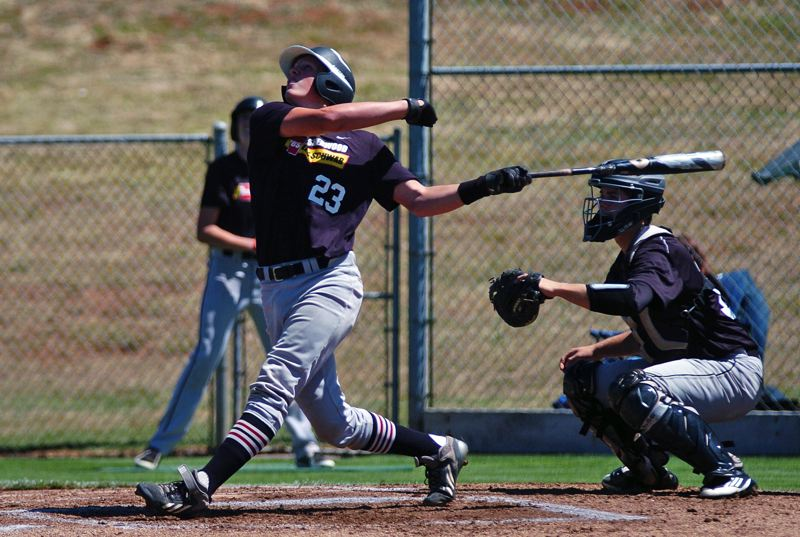 by: DAN BROOD - ADDING ON -- Adley Rutschman had three hits and scored a pair of runs for Sherwood in its 8-0 OIBA tourney win over Oregon City.