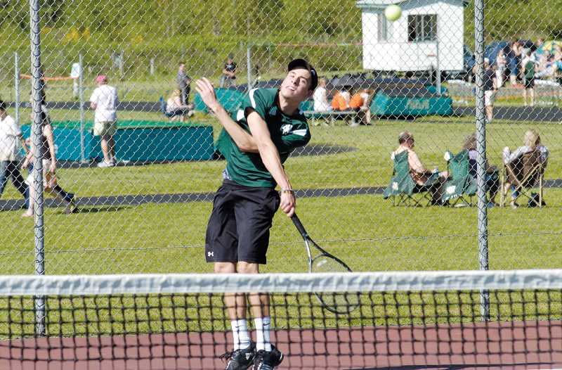 by: JEFF GOODMAN - Recent North Marion graduate Austin Berkey won the Woodburn Open singles tournament in 2012 and helped bring the idea for a similar tournament to North Marion.