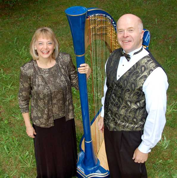 The Bronn & Katherine Journey will bring their unique musica vision through the harp to Canby to kick off this year's Canby Concert Series Oct. 18.