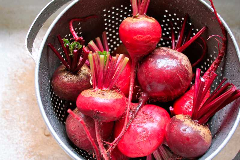 by: SUBMITTED PHOTO - Beets are a food that people either really like or not. Barb Randall encourages people to try them again, because they taste good and are good for you.