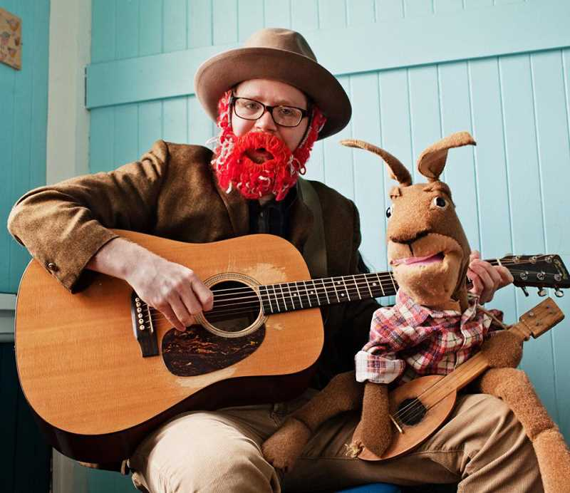 by: SUBMITTED PHOTOS - Enjoy the folk songs and puppetry of Red Yarn at Rox in Sox on Saturday.