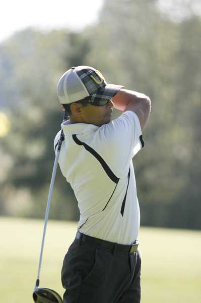 Photo Credit: PHIL HAWKINS - Ten teams came out to play in the fourth annual Oregon Latino Golf Tournament at Evergreen Golf Course in Mount Angel.