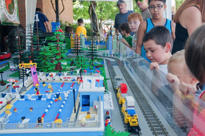 Photo Credit: SPOKESMAN FILE PHOTO - Lego World is one of the more popular attractions for kids at Wilsonvilles Fun In The Park